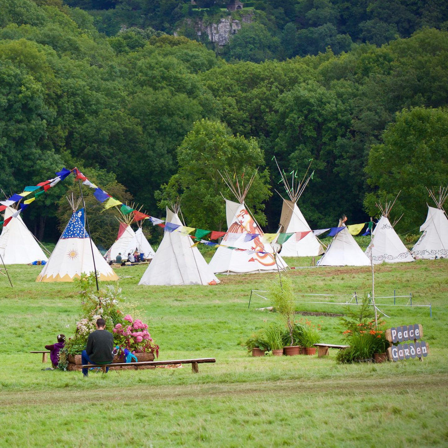 Green Gathering - Tents
