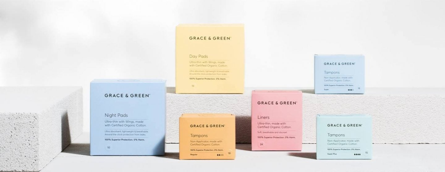 Grace & Green Eco Period Products