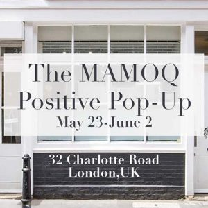 MAMOQ Pop Up Shop Banner