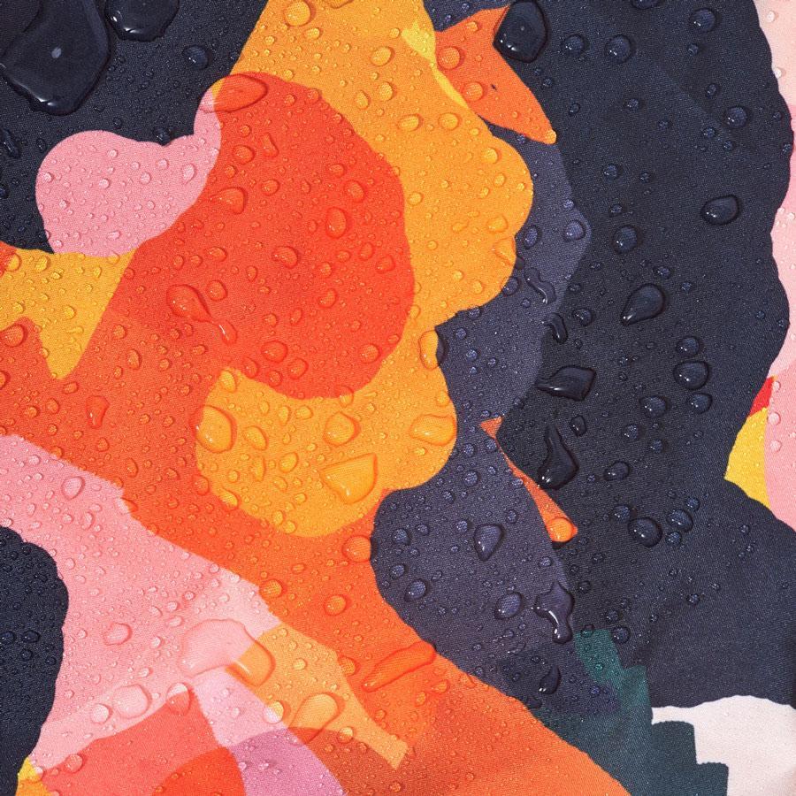 Ponch multi-coloured fabric