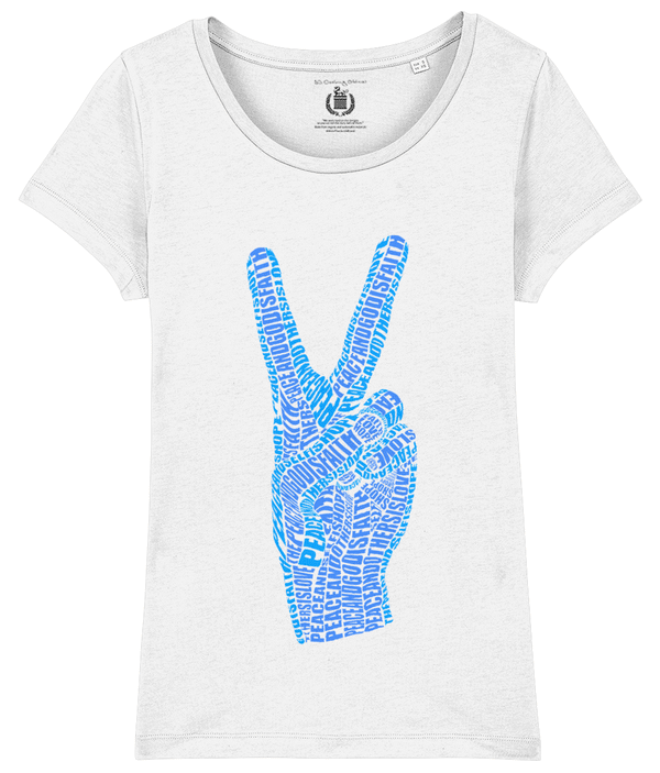 T-shirt with peace symbol
