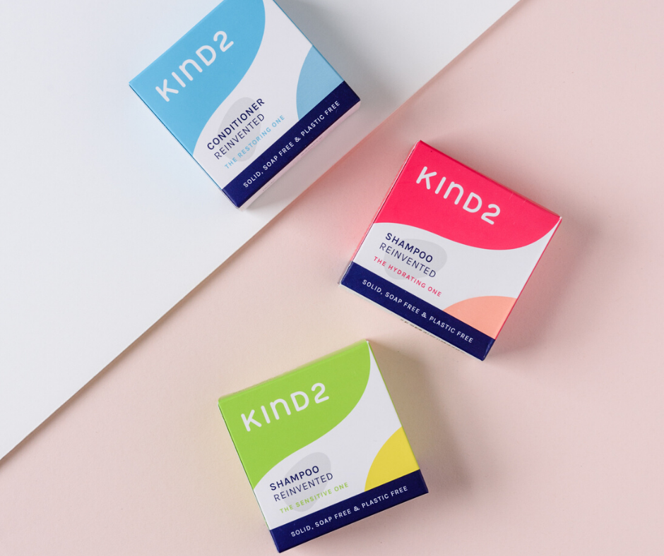 KIND2 shampoo and conditioner bars