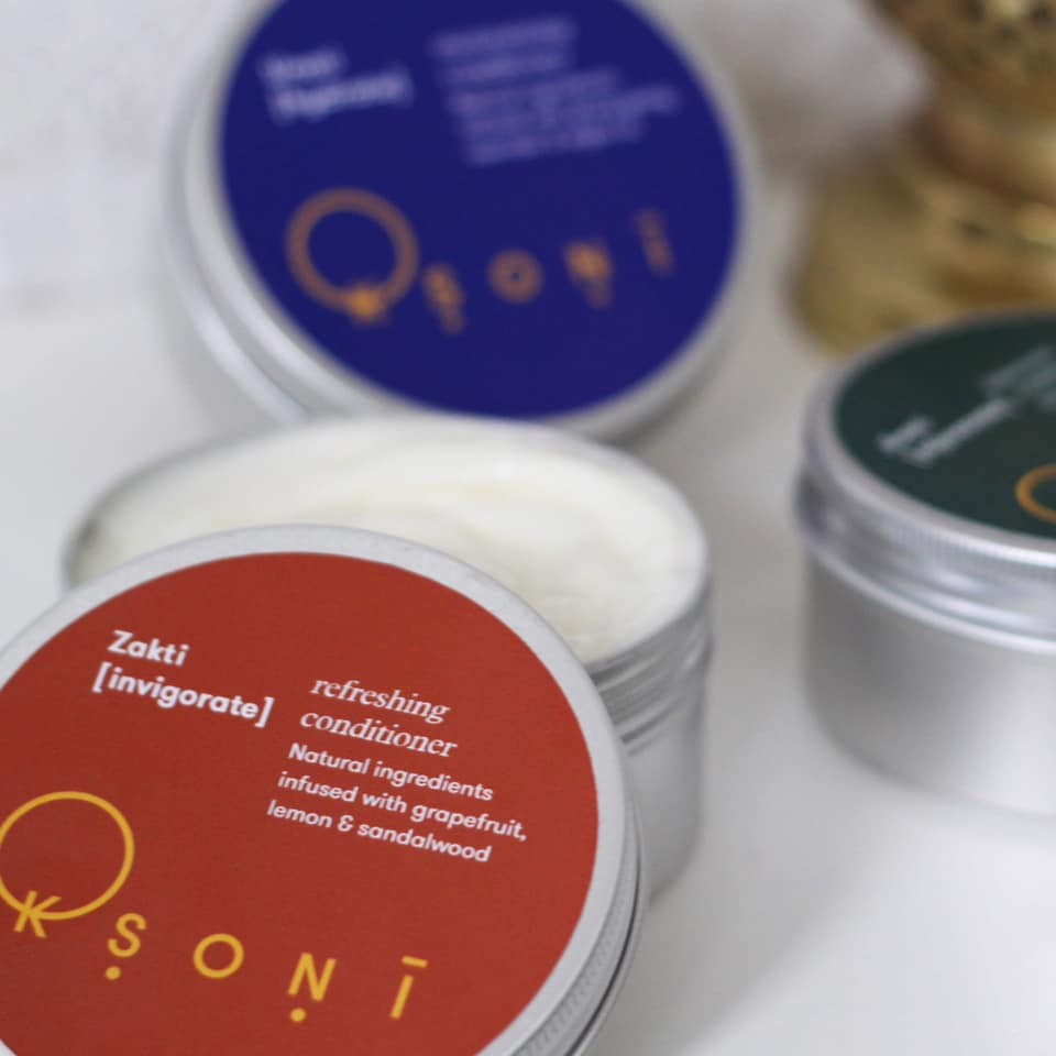 Ksoni conditioner in a can
