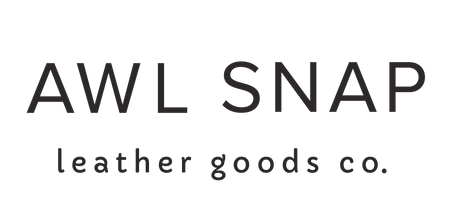 Awl Snap Leather Co logo