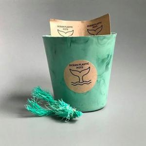 Ocean Plastic Pot