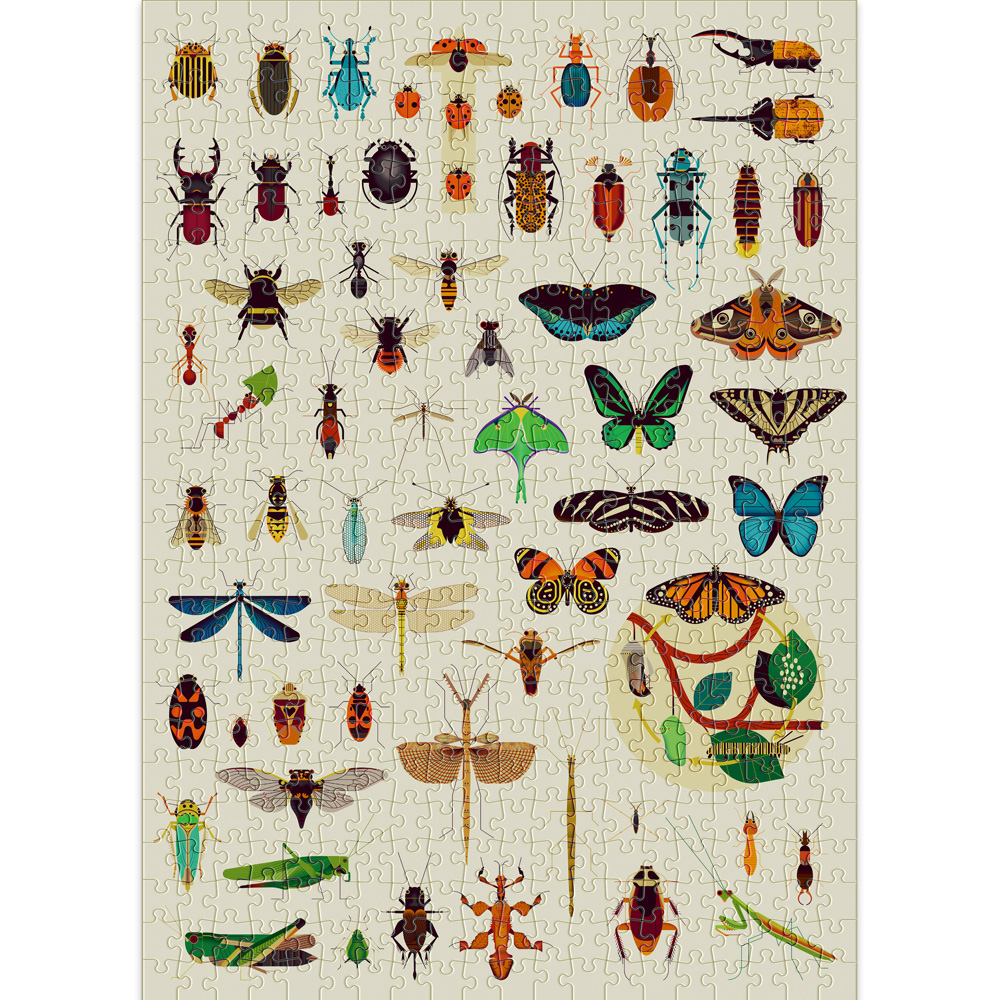 Cloudberries Insects Puzzle
