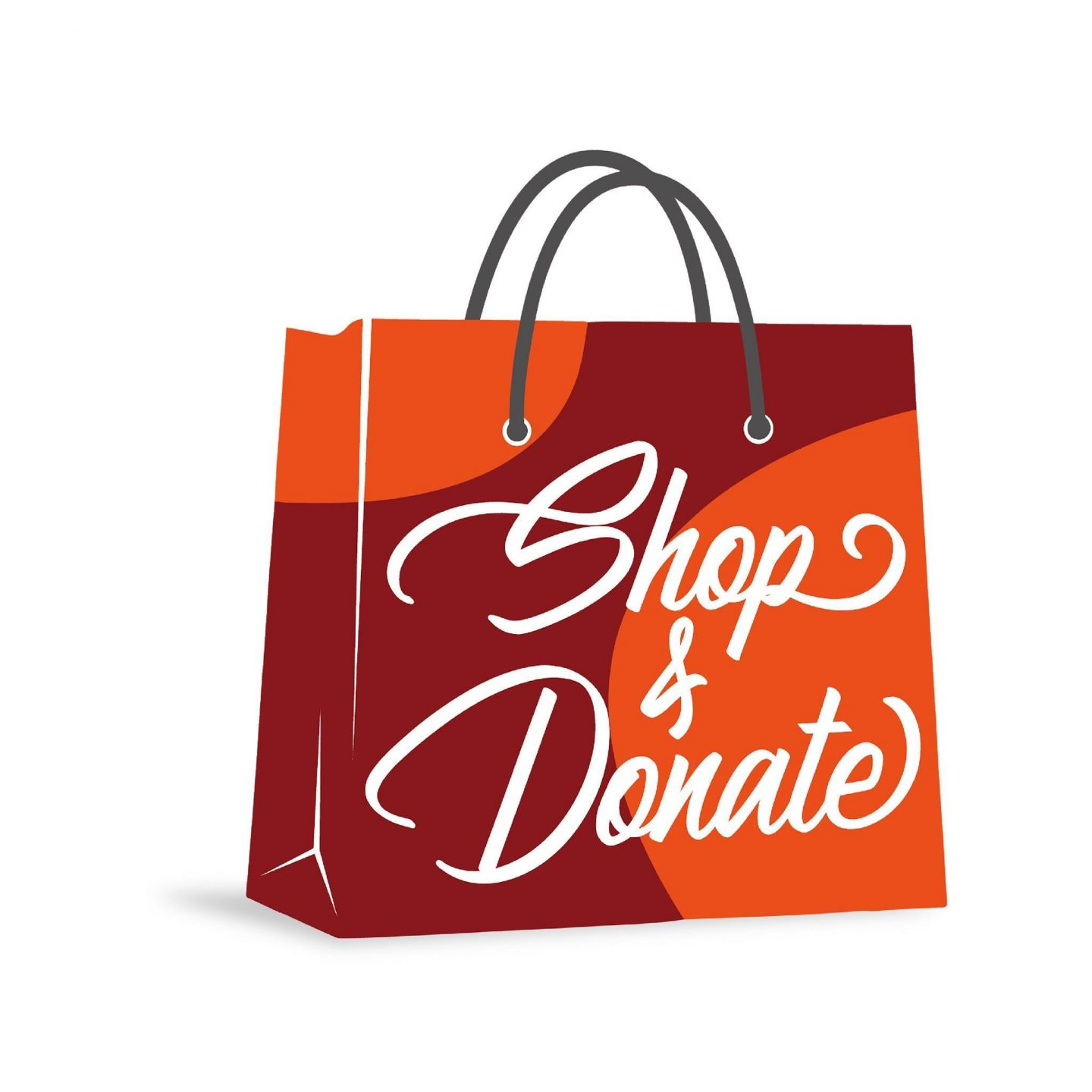 Shop and Donate logo