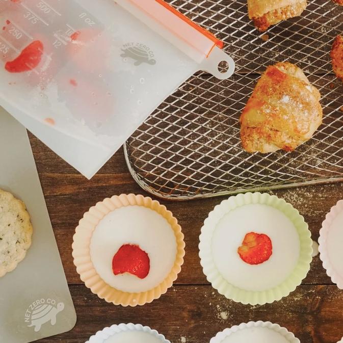 Baking items from Net Zero Co