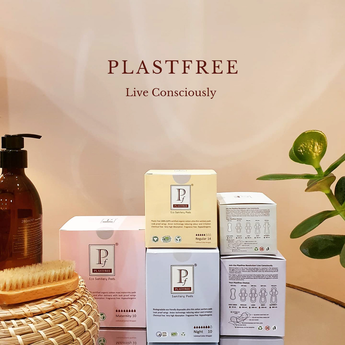 Plastfree period products