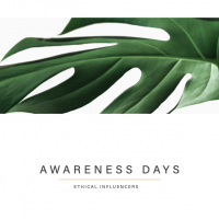 Ethical Influencers - Content Calendar 2021 - Awareness Days