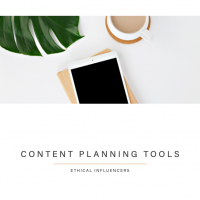 Ethical Influencers - Content Calendar 2021 - Content Planning Tools