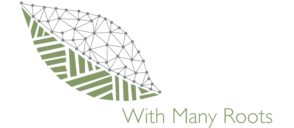 With Many Roots Logo