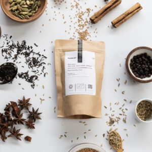 Paper Bag of Forrist Organic Yellow Mustard Seeds