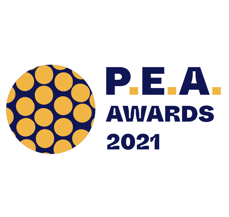P.E.A. Awards Logo