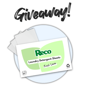 Poster: Giveaway! Reco Laundry Detergent Sheets Fresh Linen