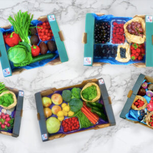 Fruit and veg boxes from Shop And Donate