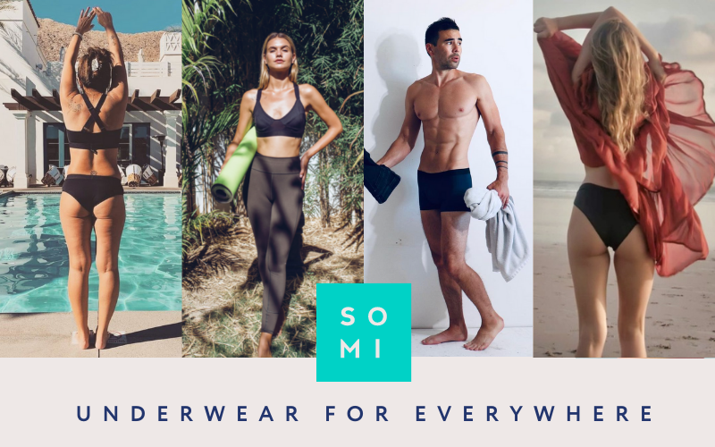 """SOMI Apparel Poster """"Underwear For Everywhere"""""""