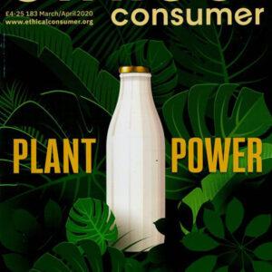 Ethical Consumer Magazine Cover - Plant Milk